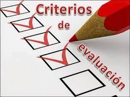 Características generales de los criterios